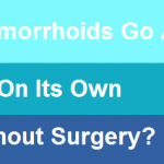 Do hemorrhoids go away on its own without surgery