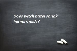 Can You Leave Witch Hazel on Hemorrhoid Overnight