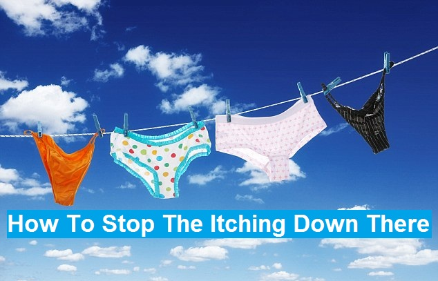 how to stop itching down there
